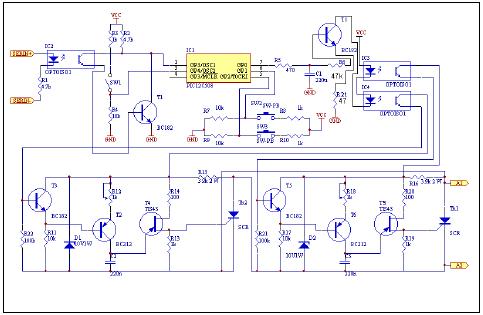 pic12c508 net switch microchip