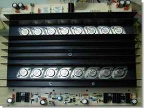 Rms 600w amplifikatör devresi bipolar transistör