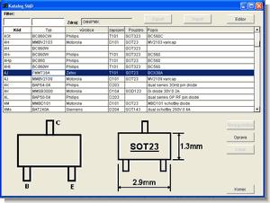 Smd komponent bilgileri (smd katalog programı)
