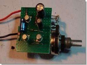 3 transistörlü basit mixer devresi (4 kanal bc457)