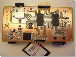 PIC24FJ64 enc28j60 web server tcpip projesi