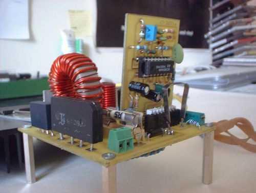 2.4kW Unity Power Factor Rectifier UC3854AN 240V AC to 420V DC aktif pfc devresi reaktif kontrol uc3854