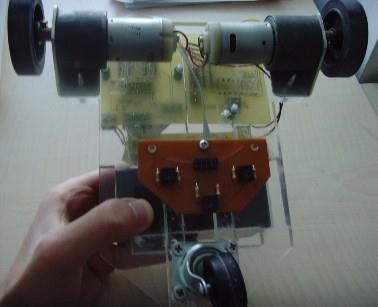 cizgi izleyen robot hazir