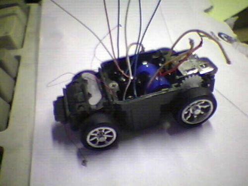 cizgi izleyen robot mekanik