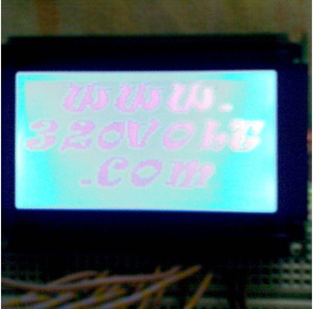 Proton ide Graphic LCD Example grafik lcd 320volt.com