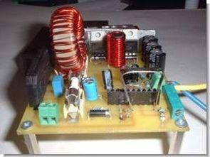 UC3854AN 2.4kw aktif pfc devresi 240v ac 420v dc