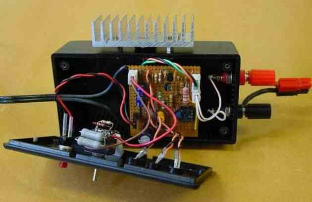 Pil Sarj Devresi Nicad Charger on 12 Volt Power Supply Schematic