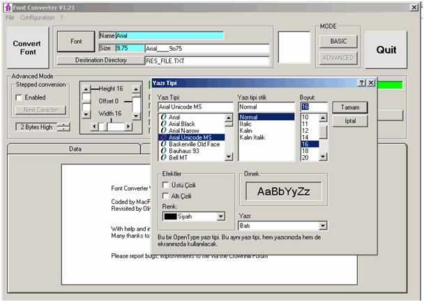 Proton ide Graphic LCD Example proton font converter 2