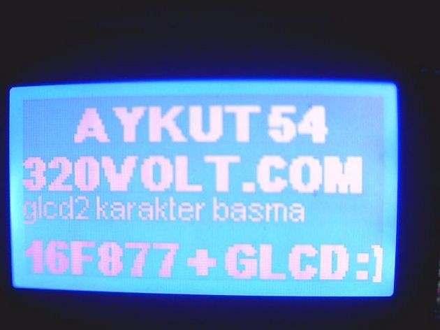 proton font grafik lcd