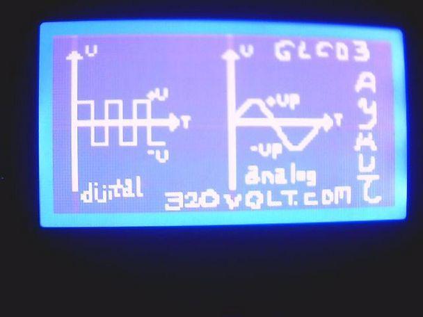 proton glcd analog dijital