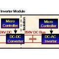 Atmega8 pv modül 100w dc ac konvertör icl7667 etd34