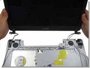 Sony vaio notebook demontaj montaj bilgileri