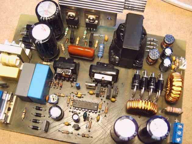 Switching Power Supply 250W ATX Modified SMPS tl494 smps devresi atx psu