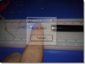 Visual Basic ile pc kontrollü basit hırsız sensörü