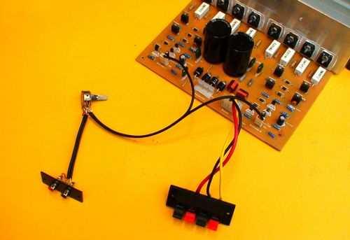 400W Transistor Power Amplifier Circuit - Electronics