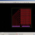 PIC16F73 Proton 8X8 smd led uygulaması