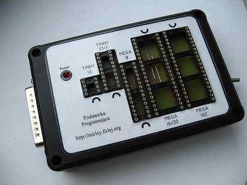 Atmel Programmer USB Powered atmel programlayici lpt