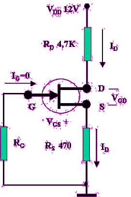 jfet-transistorun-bayaslanmasina-iliskin-birkac-ornek