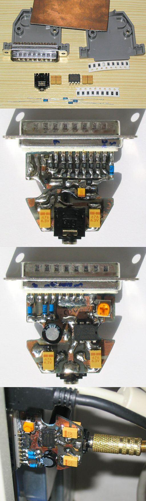 Parallel Port Interfacing Interesting Circuit