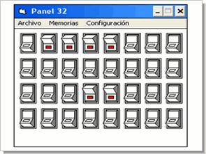Lpt port kontrollü 32 çıkışlı kontrol kartı 74hct573