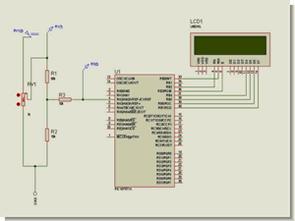 MicroC ile adc volt metre pic16f877
