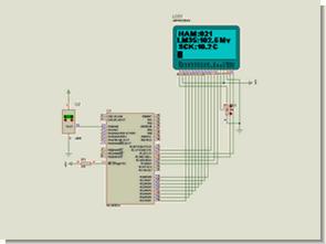 Proton lm35dz grafik lcd sıcaklık uygulaması