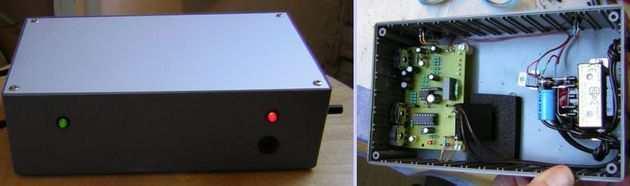 LM358 Sound Detector Circuit ses dedektor devresi baski devre kutulu pcb