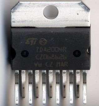 TDA2004  4X20W  Car Amplifier Circuit tda2004a