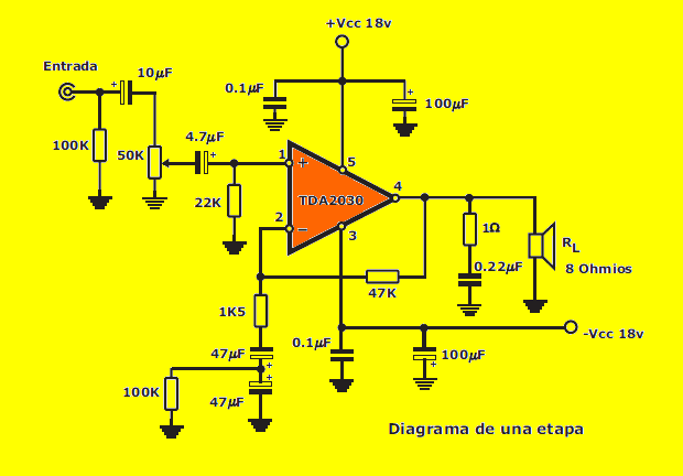 tda2030-stereo-circuit-schematic