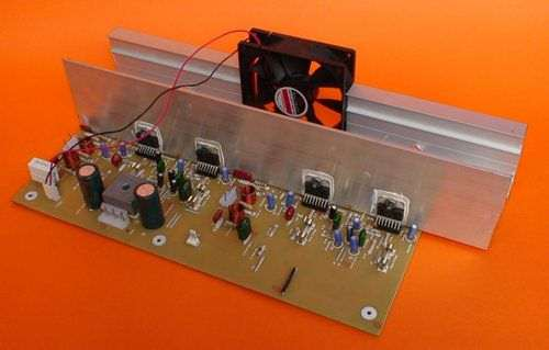 TDA7294 Bridge 300W Amplifier Circuit tda7294 150w entegre anfi tda 7294