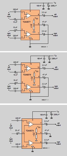 TDA Series Audio Amplifier Book tda8579 anfi amplifier ses tda