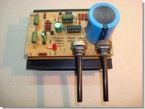 0-50volt 0-5amper laboratuar tip güç kaynağı ua723