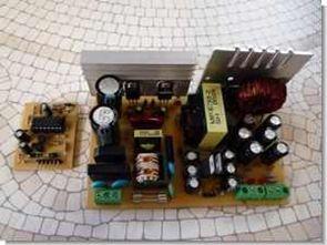 TL494 half bridge smps atx modifiye ei33-2 trafo