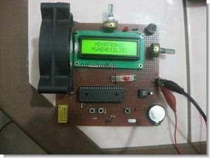 Termometreli saatli masaüstü kimlik kartı ccs pic16f877