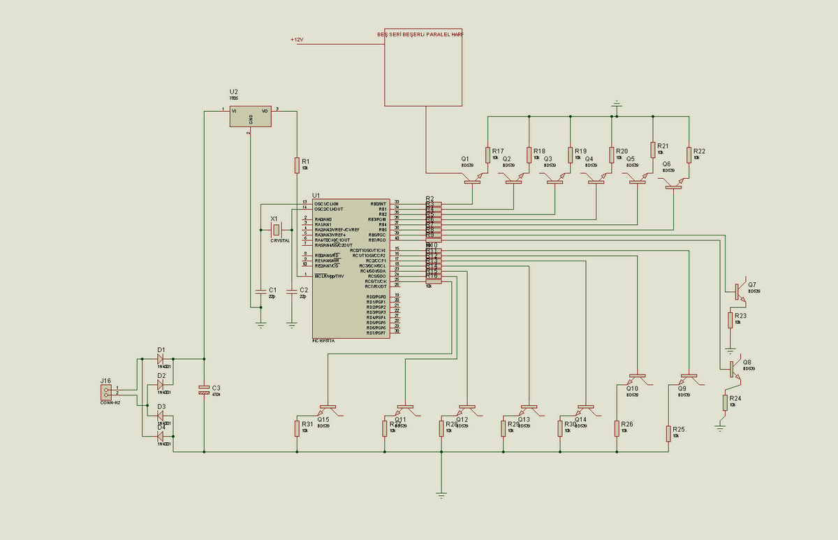 Animated Led Advertising Signs Circuit Electronics Projects Circuits Picbasic Source Code Proteus Isis Simulation Schematic 433mhz Animasyon Tabela Pic16f877 Jal 150x150