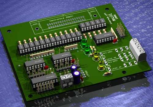 ULN2803 CNC control interface for the isolated LPT cnc kontrol pcb 3d