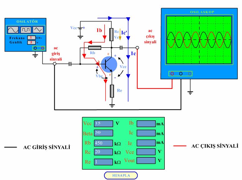 kollektor-geribeslemeli-polarlama-devresi-ac-analiz