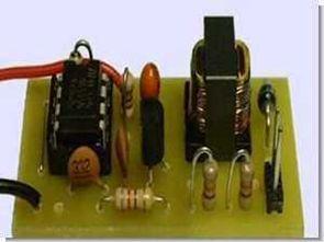 NE555 ile 5volt 200volt yükseltme dcdc dönüştürücü