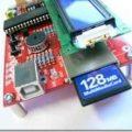 PIC18F4550 usb bağlantılı deney kiti lcd sd-mmc kart