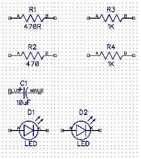 DipTrace-led-direnc-kondansator-Discrete