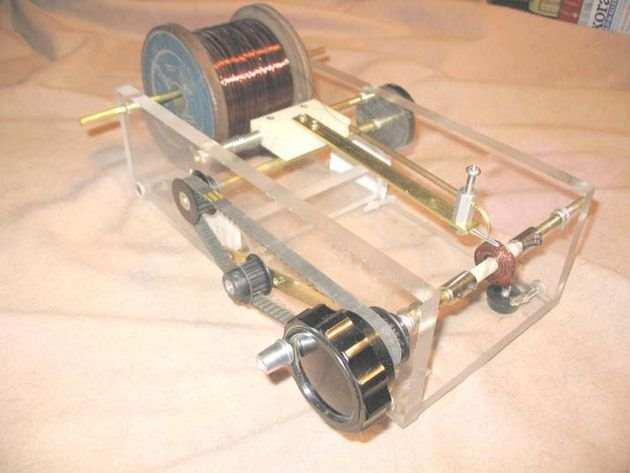 Handmade Coil Transformer Winding Machine coil winder trafo sarma makinasi
