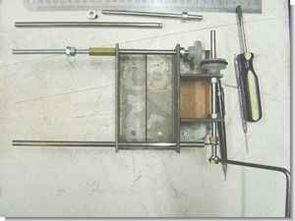El yapımı trafo sarma makinasi (çıkrık)