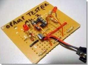 Op amp entegre test devresi