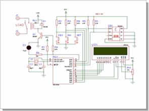 PIC16F84 ve DS1621 ile sıcaklık ısı ölçümü röle kontrol