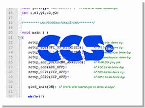 CCS C projeleri devreler (mplab entegre)