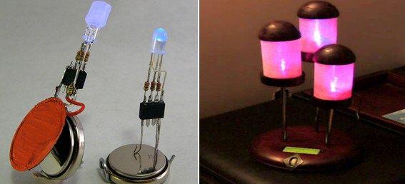 PIC12F675 RGB Led Drive Circuit pic12f675 rgb led surucu