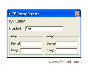 PIC16F628 ile tv uzaktan kumanda kod cözücü visual basic