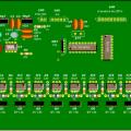 PIC16F84 ile 8 çıkışlı 16 efektli lamba sürücülü devre
