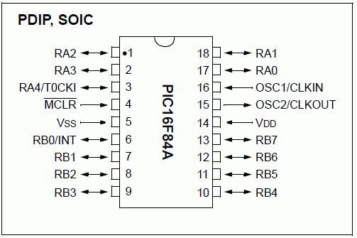 pic16f84-pdip-soic-pic-bacak