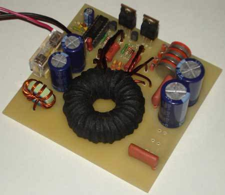 TDA7294 Car Subwoofer Amplifier Circuit TL494 DC to DC